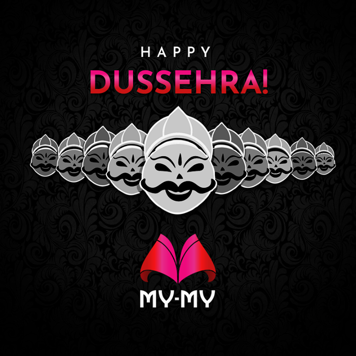 Wish you all a very happy Dussehra!  ~My-My Team  #MyMyAhmedabad #HappyDussehra