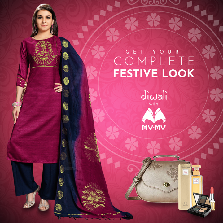 This festive season, find all you need to look FABULOUS under one roof. From designer outfits to bags to perfumes to cosmetics, we carry all the top brands to make your Diwali shopping easy.   Visit your nearest My-My showroom located at C.G. Road and S.G. Highway.  #MyMyAhmedabad #BeautyDestination