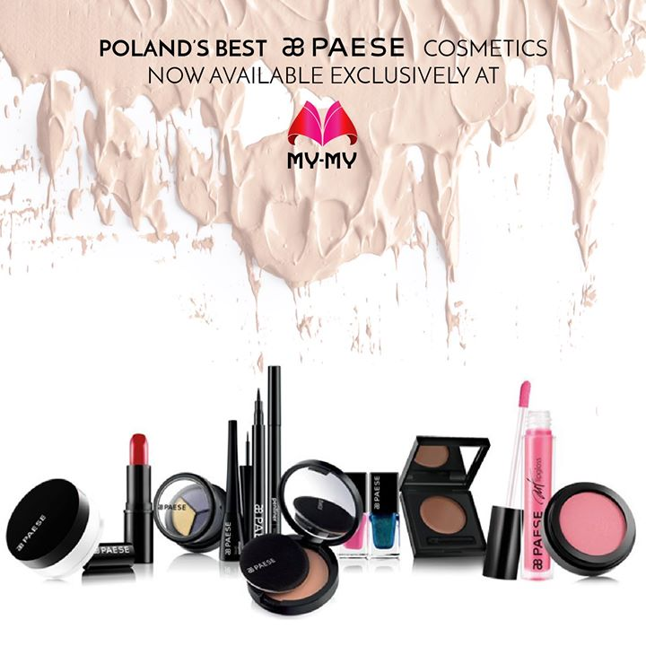 Born in Poland, loved by the world, Paese cosmetics are now ready to beautify Ahmedabad!    Exclusively available at My-My for a limited time only! This Diwali, hurry up and get your hands on one of the best names in cosmetics!    Visit your nearest My-My showroom located at C.G. Road and S.G. Highway.  #MyMyAhmedabad #PaeseCosmetics