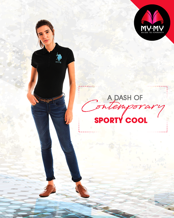 Be classic and fashionable!   #FashionTrend #FemaleFashion #NewTrend #MyMyAhmedabad
