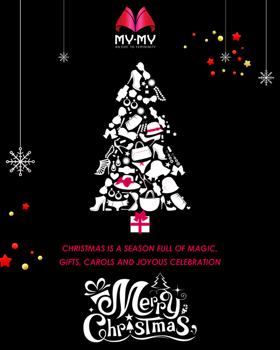 My-My wishes you all a very happy #Christmas!   #ChristmasIsHere #ChristmasTime #Christmas2017 #NewTrends #MyMyAhmedabad #Fashion