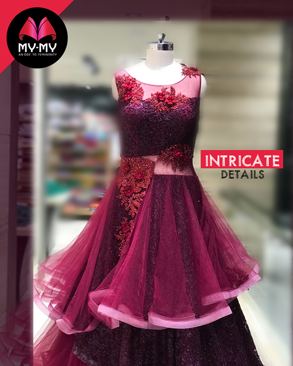 Intricate details, that make up for delightful #designs!  #Style #CurrentTrend #NewTrend #MyMyAhmedabad #FemalelFashion #Fashion