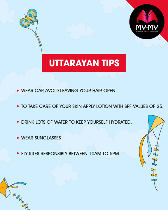 Make #Uttarayan happier and safe with these tips!  #UttarayanTips #Style #CurrentTrend #NewTrend #MyMyAhmedabad #FemalelFashion #Fashion