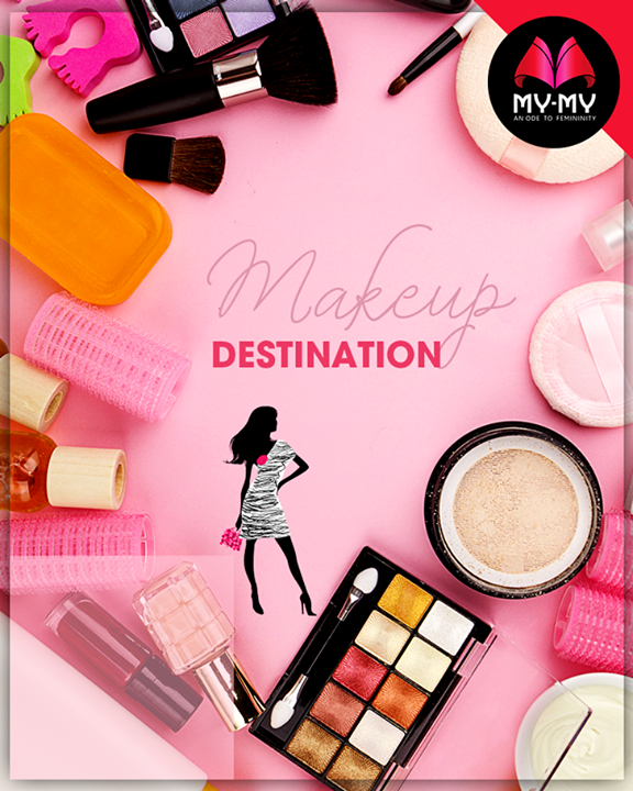 Make your mind for makeup accessories from My-My.  #Style #CurrentTrend #NewTrend #MyMyAhmedabad #FemalelFashion #Fashion