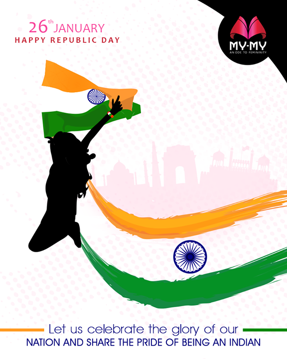 Let us celebrate the glory of our nation and share the pride of being an Indian.  #RepublicDay #HappyRepublicDay #Salute #India #NewTrend #MyMyAhmedabad #FemalelFashion #Fashion