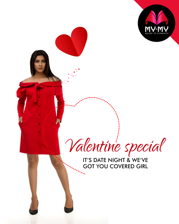 Let's get it on this Valentine's Day with a little something from My-My  #ValentinesDaySpecial #ValentinesDay #Style #CurrentTrend #NewTrend #MyMyAhmedabad #FemalelFashion #Fashion