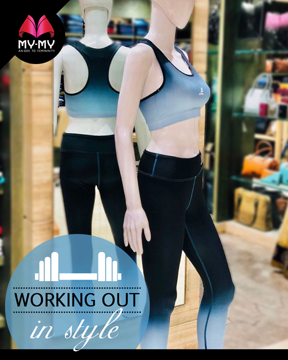 We've got you covered on your #activewear!  #GymWear #ValentinesDaySpecial #ValentinesDay #Style #CurrentTrend #NewTrend #MyMyAhmedabad #FemalelFashion #Fashion