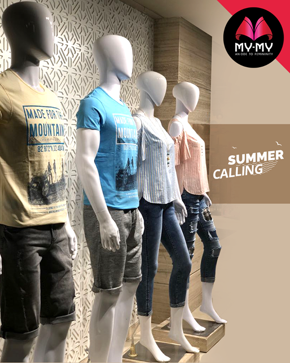 Make way to My-My for trendy uber cool summer fashion wear!  #Summers #SummerIsHere #Style #CurrentTrend #NewTrend #MyMyAhmedabad #FemalelFashion #Fashion
