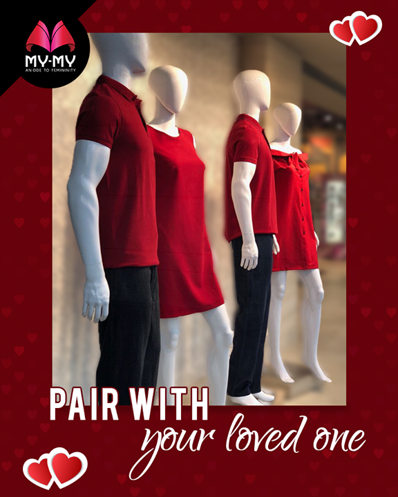 Redefining love this valentine's day   #ValentinesDay #Style #CurrentTrend #NewTrend #MyMyAhmedabad #FemalelFashion #Fashion