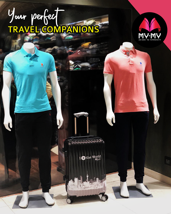 Comfy outfits + stylish bags =  perfect travel companions  #TravelSpecial #MensFashion #Style #CurrentTrend #NewTrend #MyMyAhmedabad #Fashion