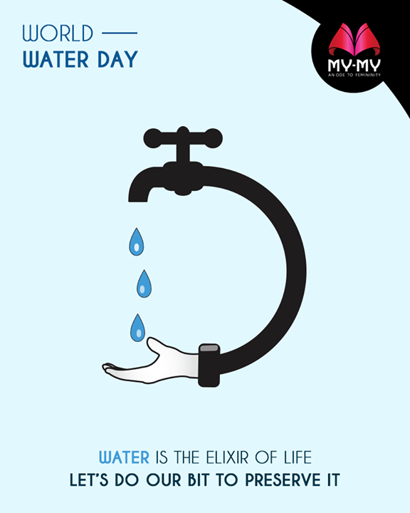 Water is the elixir of life. Let's do our bit to preserve it.  #WorldWaterDay #SaveWater #WaterDay #WaterIsLife #WomenFashion #Style #CurrentTrend #NewTrend #MyMyAhmedabad #Fashion