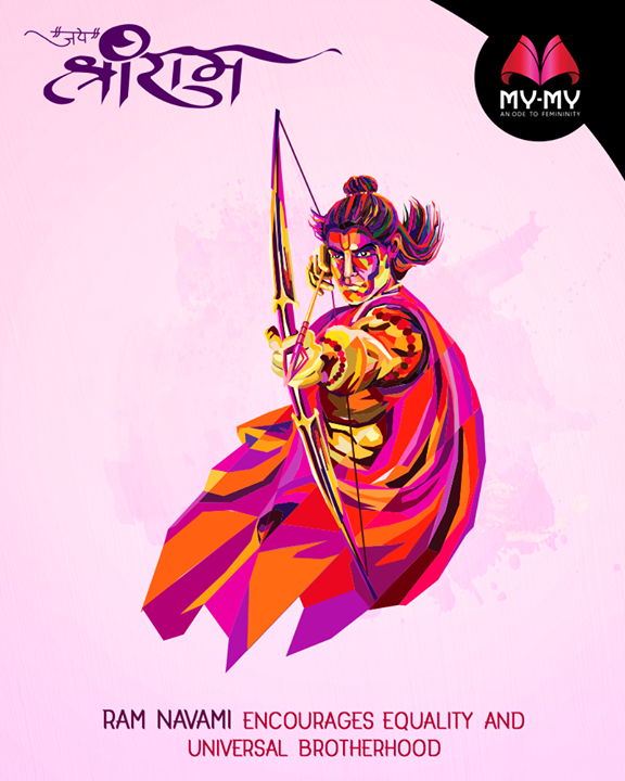 Ram Navmi encourages equality and universal brotherhood.  #RamNavami #Ramnavmi #IndianFestivals #JaiShreeRam #WomenFashion #Style #CurrentTrend #NewTrend #MyMyAhmedabad #Fashion