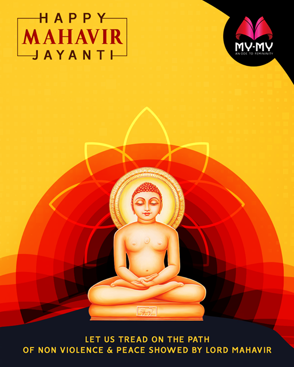 Let your spirit be filled with Ahimsa & Truth  #MahavirJayanti2018 #MahavirJayanti #MyMyAhmedabad #Fashion