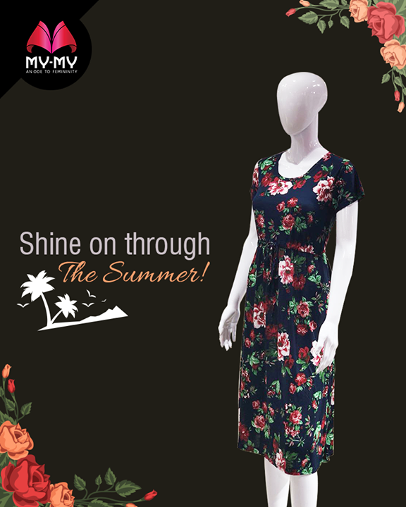It's the season of sunshine.  #Summers #WomenFashion #Style #CurrentTrend #NewTrend #MyMyAhmedabad #Fashion