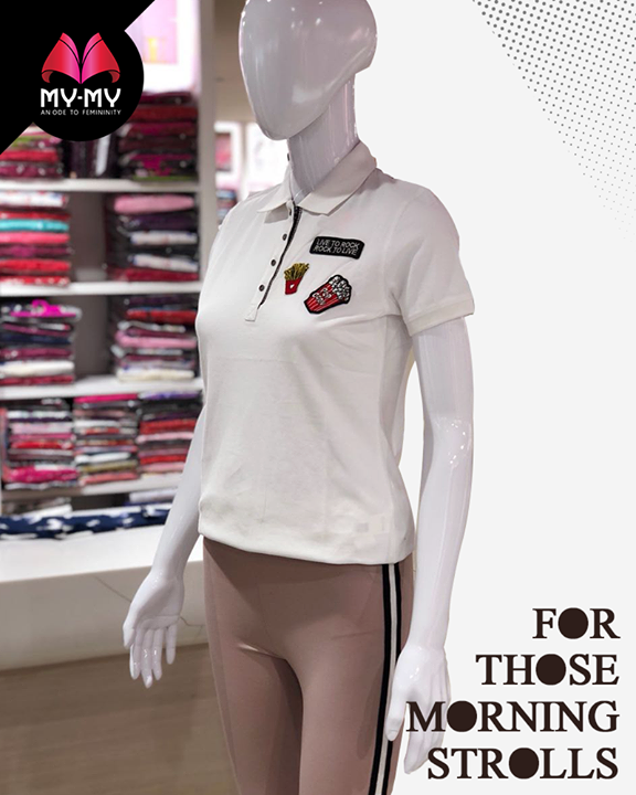 For the days when you feel slow and sluggish. Add a zest of style with this casual outfit.  #WomenFashion #Style #CurrentTrend #NewTrend #MyMyAhmedabad #Fashion