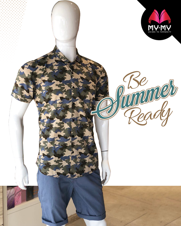 It's time for you to switch to comfortable shorts!   #Summers #Style #CurrentTrend #NewTrend #MyMyAhmedabad #Fashion