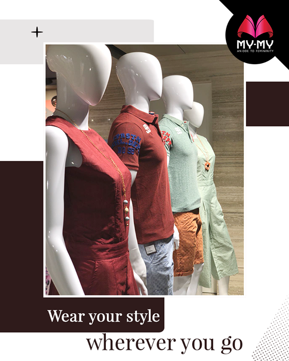 Crank up your cool quotient!   #Summers #Style #CurrentTrend #NewTrend #MyMyAhmedabad #Fashion