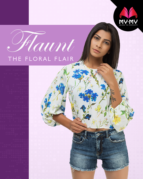 Summers is all about flaunting the floral flair!   #MyMy #MyMyAhmedabad #Fashion #Ahmedabad