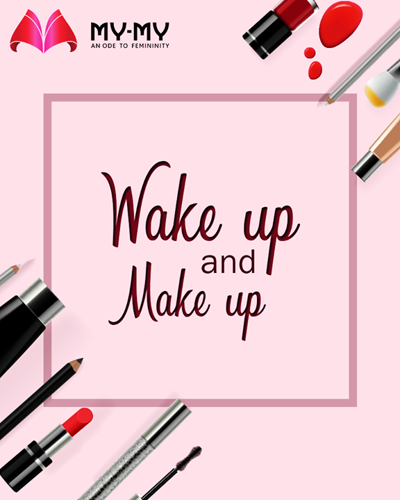 To all the makeup lovers!   #MakeUp #MakeUplovers #SummerWardrobe #MyMy #MyMyAhmedabad #Fashion #Ahmedabad