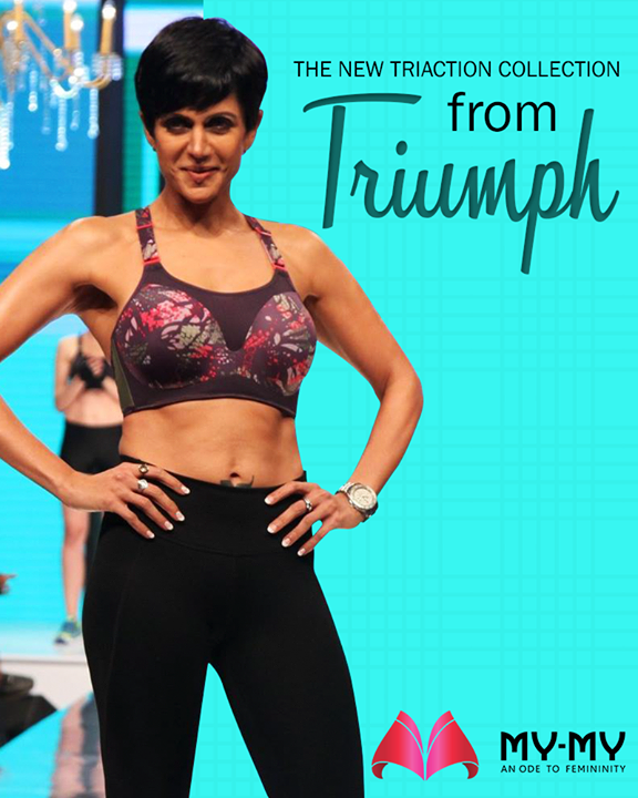 Get active with the new #Triaction collection from #Triumph!  #MyMy #MyMyAhmedabad #Fashion #Ahmedabad