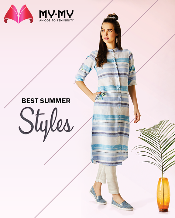 Don the best summer looks with gorgeous dresses!   #SummerWardrobe #MyMy #MyMyAhmedabad #Fashion #Ahmedabad