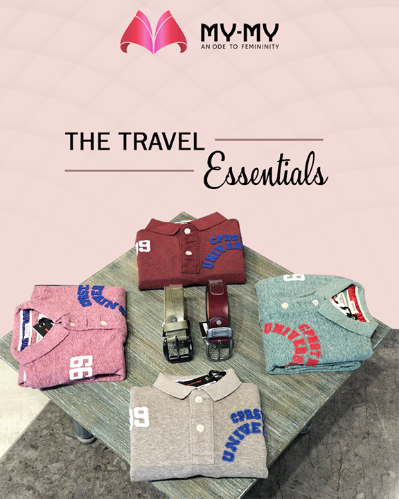 We just cracked the code for the travel-essentials you need this weekend  #SummerWardrobe #MyMy #MyMyAhmedabad #Fashion #Ahmedabad #TravelEssentials
