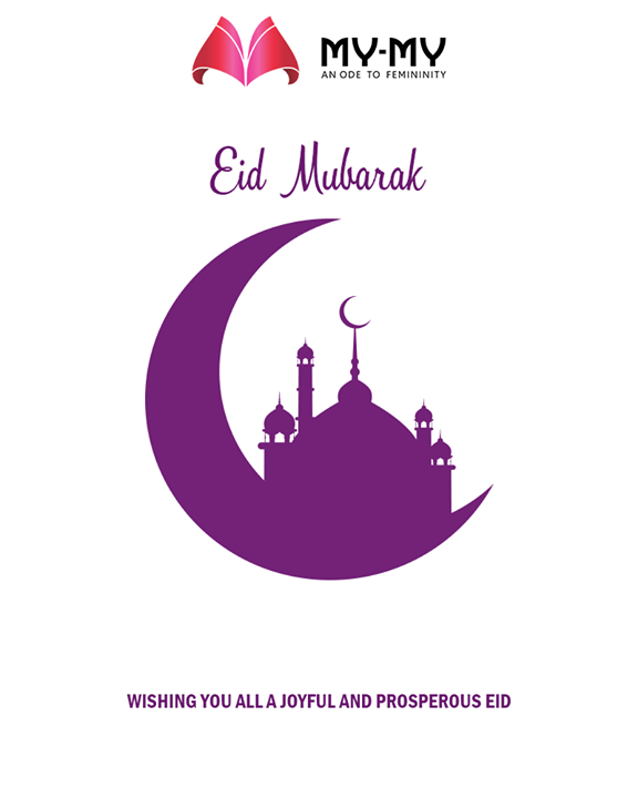 Wishing you all a joyful and prosperous Eid.  #EidMubarak #Celebration #MyMy #MyMyAhmedabad #Fashion #Ahmedabad
