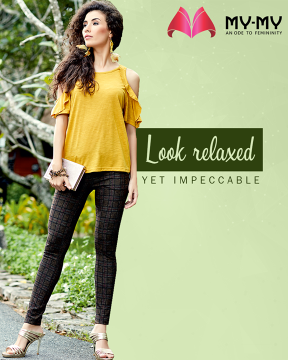 Effortlessly chic start for the week!  #MyMy #MyMyAhmedabad #Fashion #Ahmedabad