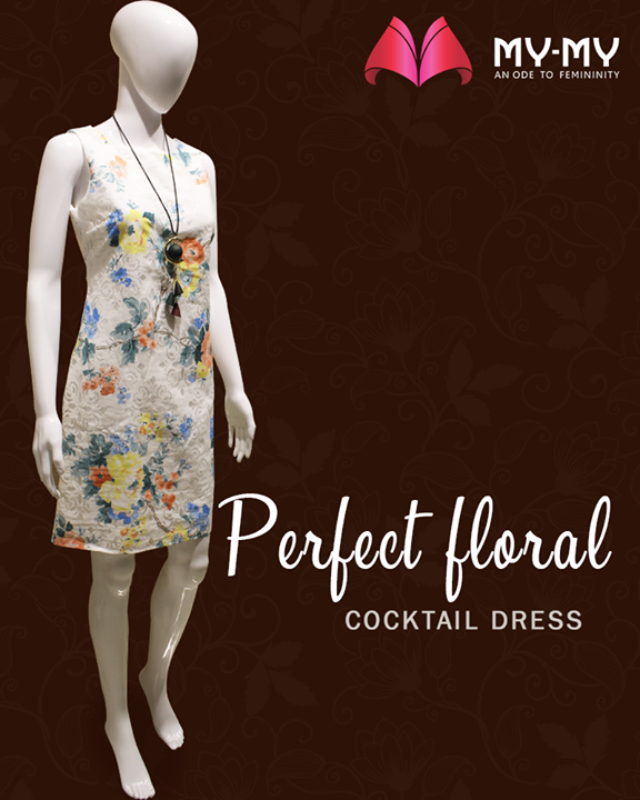 Show your fabulous side with this floral dresses!  #MyMy #MyMyAhmedabad #Fashion #Ahmedabad #FemaleFashion