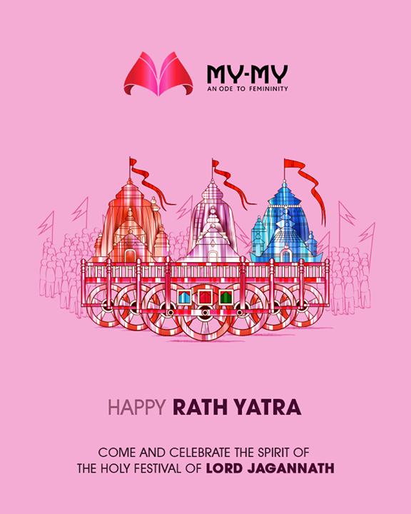 Come and celebrate the spirit of the holy festival of Lord Jagannath  #RathYatra2018 #Jagannath #RathYatra #JagannathTemple #LordJagannath #FestivalOfChariots #Spirituality #MyMy #MyMyAhmedabad #Fashion #Ahmedabad #FemaleFashion