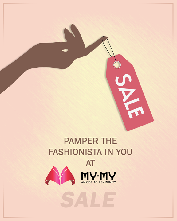 Sale season spells indulgence. Are you shopping at My-My sale this weekend?  #MYMYSale #MyMy #MyMyAhmedabad #Fashion #Ahmedabad #FemaleFashion