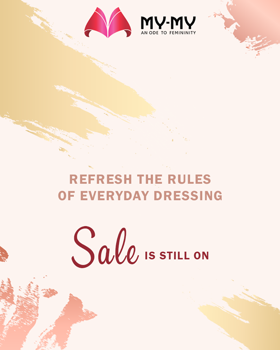 Hurry up!  #MYMYSale #MyMy #MyMyAhmedabad #Fashion #Ahmedabad #FemaleFashion