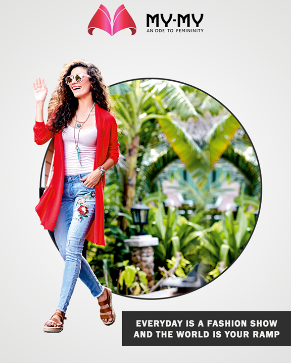 Own the stage everyday with the apparels from My-My.  #MyMyAhmedabad #Fashion #Ahmedabad