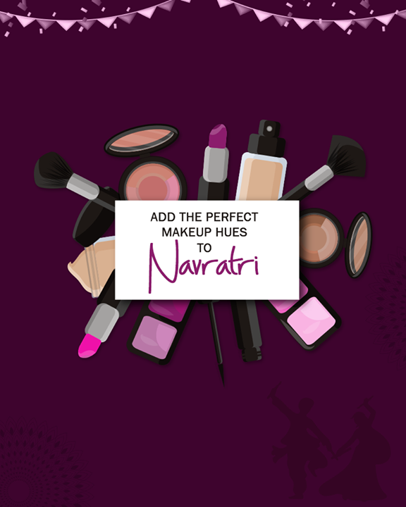 Shop for the perfect makeup accompaniments this Navratri from My-My!  #MyMy #MyMyAhmedabad #Fashion #Ahmedabad #Navratri
