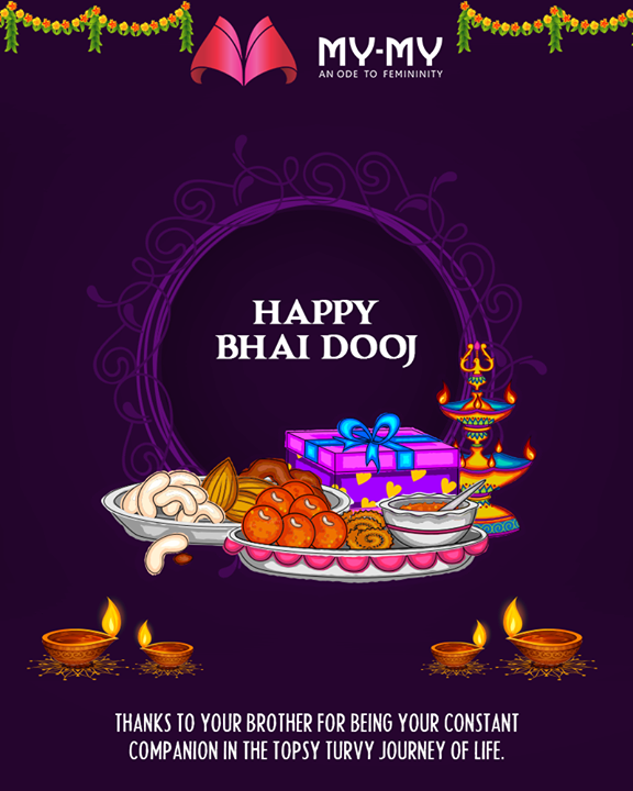 Celebrate the special sibling bond this Bhai Dooj!  #BhaiDooj #Diwali2018 #Celebration #FestiveSeason #IndianFestivals #BrotherSister #HappyBhaiDooj #MYMYStore #Fashion #Shopping #FashionStore #Gujarat #India #Travel