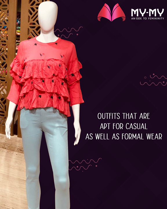 My-My offers apparels that can be worn as both casual and formal wear.  #MyMy #MyMyCollection #ExculsiveEnsembles #ExclusiveCollection #Ahmedabad #Gujarat #India