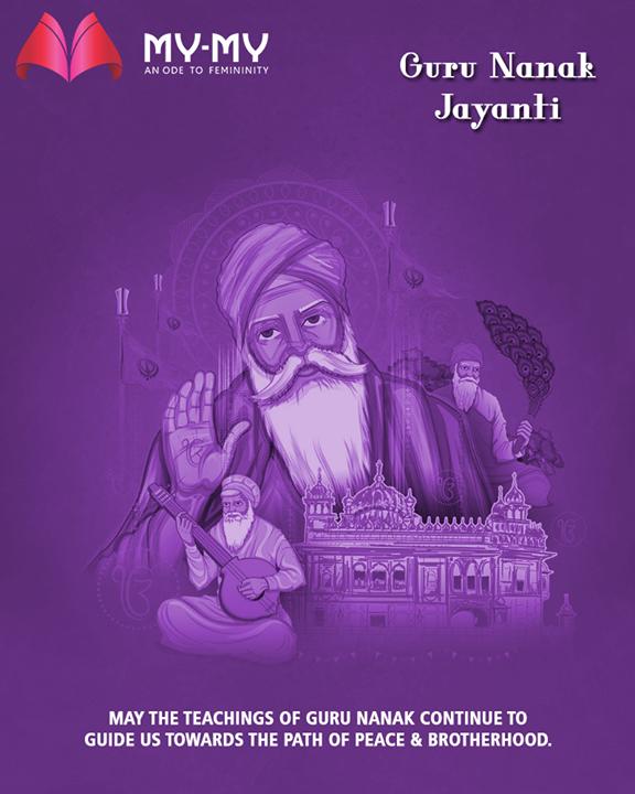 May the teachings of Guru Nanak Ji continue to guide us towards the path of peace & brotherhood.  #GuruNanakJayanti #Gurpurab #GuruNanakDevJi #MyMy  #Ahmedabad #Gujarat #India