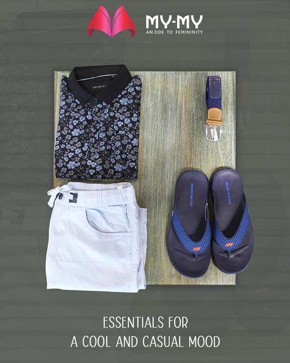 Outfits apt for an informal look and frame of mind  #CasualMood #Essentials #InformalLook #MyMy #MyMyCollection #ExculsiveEnsembles #ExclusiveCollection #Fashion #SGHighway #Ahmedabad #Gujarat #India