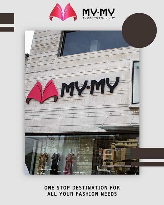 My-My caters to all your fashion requirements and offers you the best options.  #OneStopDestination #FashionNeeds #MyMy #MyMyCollection #ExculsiveEnsembles #ExclusiveCollection #Ahmedabad #Gujarat #India
