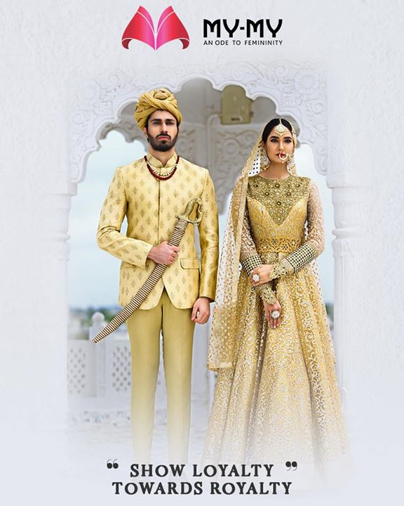 Re-wire your ethnic look and show loyalty towards royalty with the iconic traditional ensembles from My-My.  #IconicTraditionalEnsembles #BridalCollection #BridesOfIndia #BridalWear #TraditionalWear #FemaleFashion #Ahmedabad #EthnicWear #BeautifulDresses #Sparkle #Gujarat #India