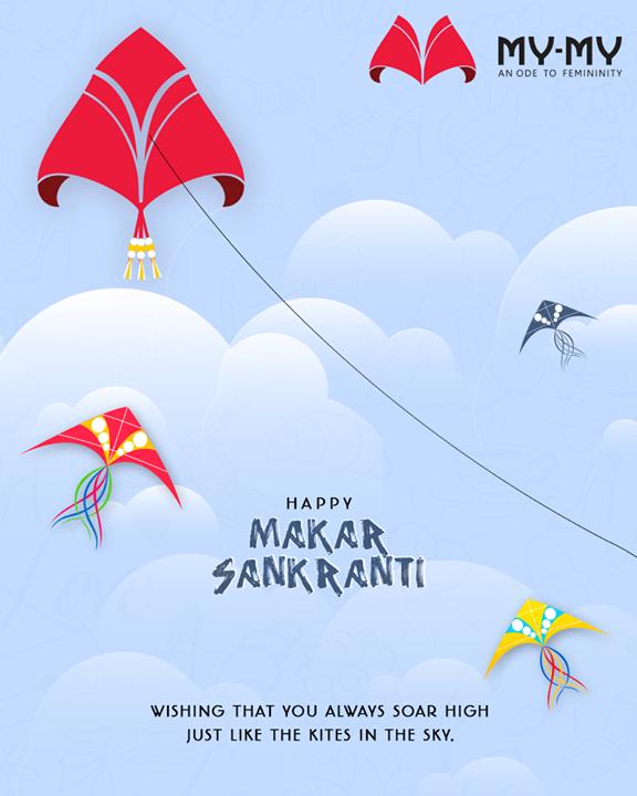 Wishing that you always soar high just like the kites in the sky.  #HappyUttarayan #Uttarayan2019 #MakarSankranti #IndianFestivals #FestivalsOfIndia #KiteFestival #KiteFlying #MYMY #MYMYStore #FemaleFashion #Ahmedabad