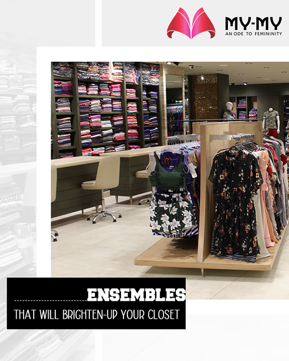 Take a sneak-peek into our versatile range of apparels that have the potential to brighten-up your closet and gear-up to pay us a visit soon!  #EnchantingCollection #FascinatingFashionDestination #TraditionalCollection #EthicEnsembles #TraditionalWear #FemaleFashion #Ahmedabad #EthnicWear #BeautifulDresses #Sparkle #Gujarat #India