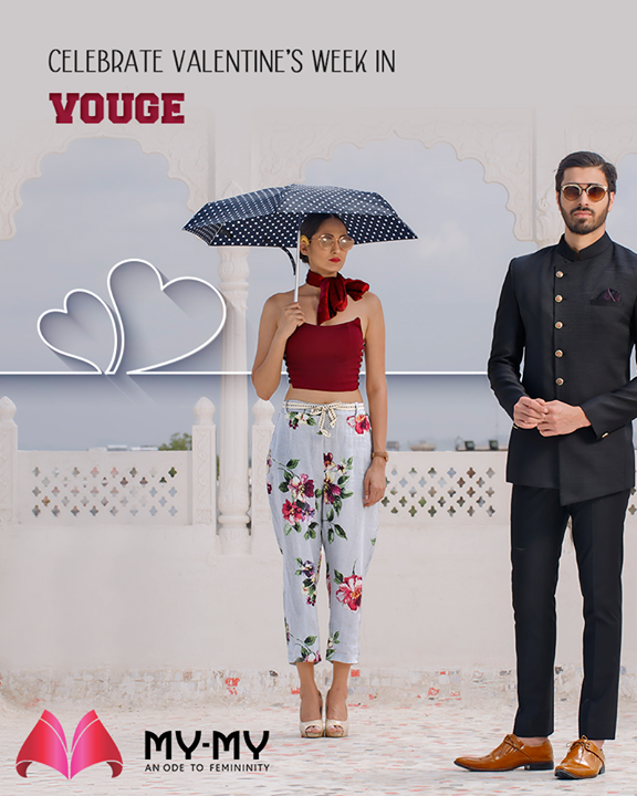 Look your best and celebrate #ValentinesWeek in vogue with the trendiest collection of apparels from My-My!  #DazzleYourValentine #MonthOfLove #FlauntYourFashion #MyMy #MyMyCollection #WesternOutfits #ExculsiveEnsembles #ExclusiveCollection #Ahmedabad #Gujarat #India
