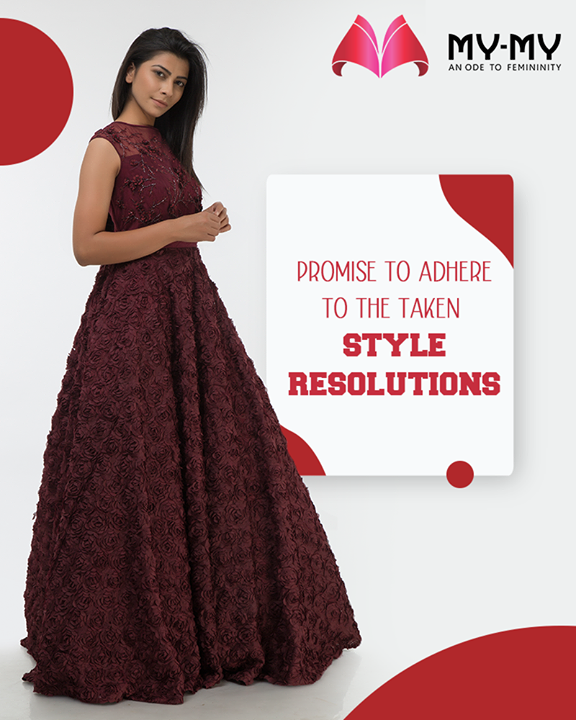 Never compromise with your style and promise to adhere to the taken style resolutions with ensembles from My-My!  #PromiseDay #DazzleYourValentine #MonthOfLove #FlauntYourFashion #MyMy #MyMyCollection #WesternOutfits #ExculsiveEnsembles #ExclusiveCollection #Ahmedabad #Gujarat #India