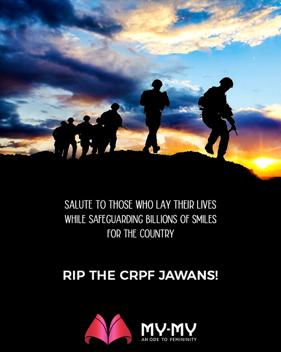 Salute to those who lay their lives while safeguarding billions of smiles for the country!  RIP the CRPF jawans!     #RIPBraveHearts #PulwamaAttack #CRPFJawans #PulwamaTerrorAttack #CRPF #BlackDay  #MyMyCollection #Ahmedabad #Gujarat #India