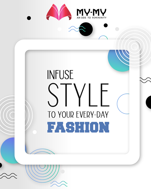 Infuse style to your every-day fashion and let not anyone dull your dazzle with My-My  #QOTD #FashionQuotes #TimelessClassics #StatementPieces #RedefineSenseOfLuxury #PhilosophyOfDressing #FemaleFashion #Ahmedabad #FallForFashion #BeautifulDresses #Sparkle #Gujarat #Indias