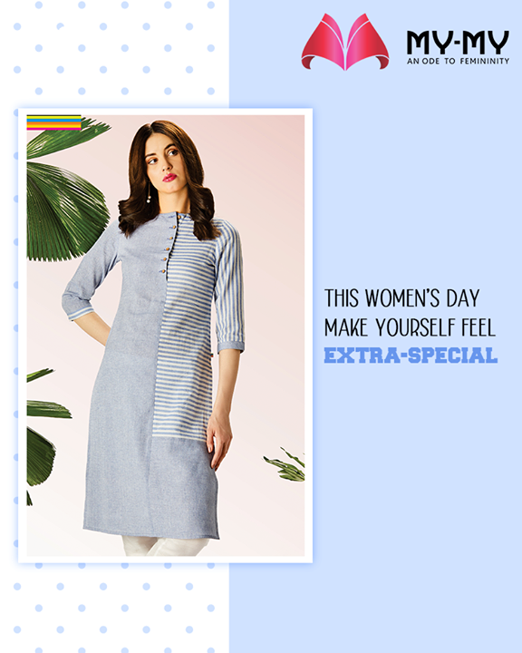 Looking for a good reason to indulge in a shopping spree? Women's Day is just round the corner.  Drop in at the fascination fashion destination; My-My and shop to your heart's content.  #WomensDay #ShoppingSpree #RewardYourself #PamperYourself #TrendingOutfits #AssortedEnsembles #AestheticPerfection #ImpeccableOutfits #LookStellar #FascinatingFashionDestination #FemaleFashion #Ahmedabad #EthnicWear #Gujarat #India