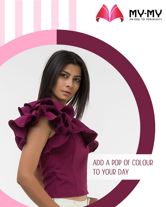 This #WomensDay, add a pop of colour to your look in the bold hues with My-My  #ShoppingSpree #RewardYourself #PamperYourself #TrendingOutfits #AssortedEnsembles #AestheticPerfection #ImpeccableOutfits #LookStellar #FascinatingFashionDestination #FemaleFashion #Ahmedabad #EthnicWear #Gujarat #India