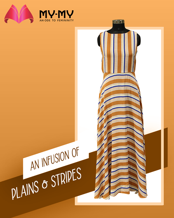 Get yourself this wardrobe staples that re-defines the epitome of versatility from your style partner My-My  #PlainsAndStripes #AssortedEnsembles #AestheticPerfection #ChicAndBold #LookStellar #FascinatingFashionDestination #FemaleFashion #Ahmedabad #BeautifulDresses #Sparkle #Gujarat #India