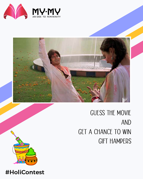 ::C O N T ES T  A L E R T::  Guess the movie and get a chance to win gift hampers   #ContestAlert #HoliContest #FacebookContest #ContestTime #GuessTheMovie #EthnicWear #Elegance #BeautifulDresses #Fashion #Sparkle #Gujarat #Ahmedabad #India